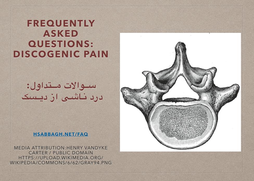 FAQ – IVD Basic Functional Anatomy